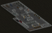 Fo2 Sierra Army Depot Robotic Repair Bay and Storerooms