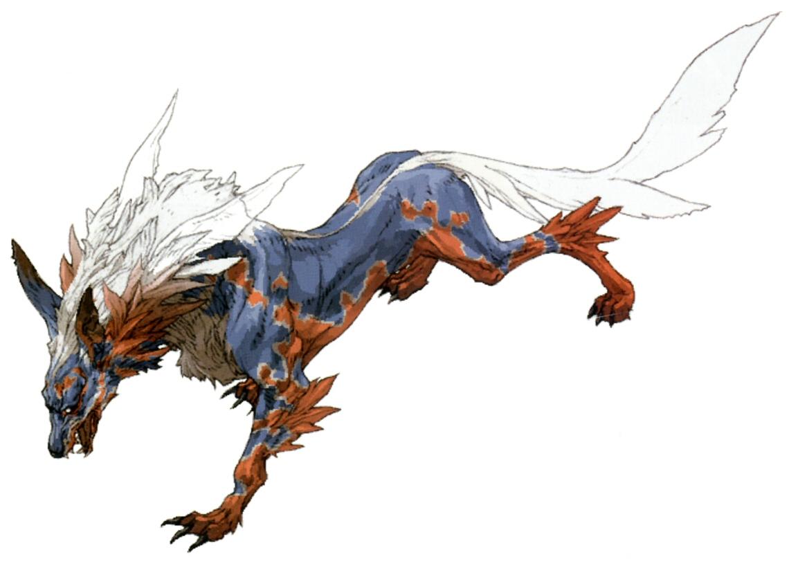 Fenrir (Summon) - The Final Fantasy Wiki has more Final Fantasy ...