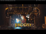 Frodo in Shelobs lair