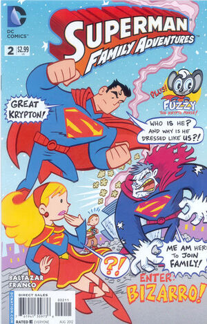 Cover for Superman Family Adventures #2