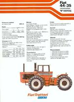 Fiat 44-35 4WD brochure