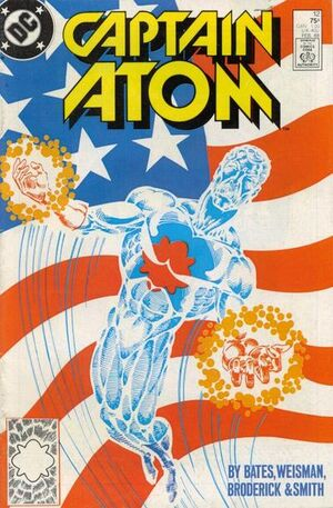Cover for Captain Atom #12