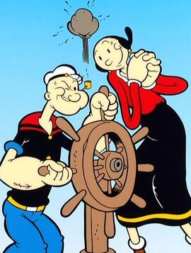Olive oyl and popeye-5349