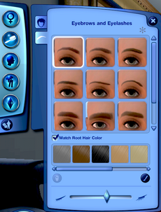 TS3 Eyebrows and Eyelashes