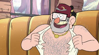 S1e6 stan chest hair