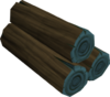 Blue logs (Gielinor Games) detail