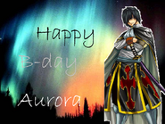 Aurora's B-day art