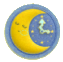 KEY Moon Clock sprite