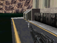 Shot of the lower hoover dam Mw3DS
