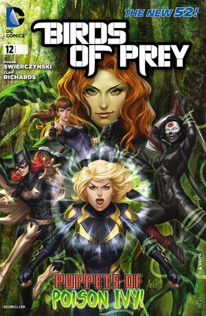Cover for Birds of Prey #12