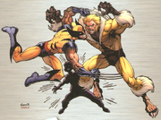 Wolverine, Sabretooth, Nowhere Boy