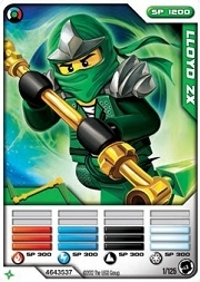 Lloyd ZX card