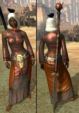 DA2 Generic Light Chestpiece - (Adept Robe - Empowered Robe - Neophyte Robe)