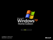 Windows XP Home 25.10.2001