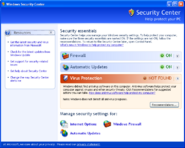 Windows Security Center XP SP2