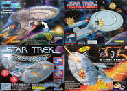 Playmates USS Enterprise-Ds