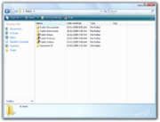 Windows Explorer Vista