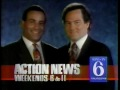 WPVI-TV's Channel 6 Action News At 6 And 11's Weekend Edition's Rob Jennings And Phil Andrews Video Promo From 1991