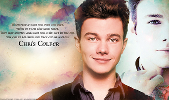 Chris colfer by melissaphotography-d4bkhe4