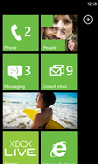 Windows Phone 7.5 Start Screen