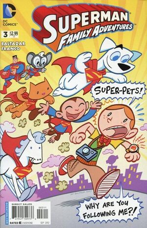 Cover for Superman Family Adventures #3