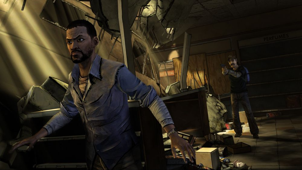 Lee everett videojuego the walking dead wiki