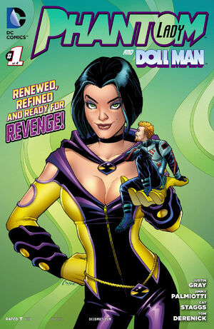 Cover for Phantom Lady #1