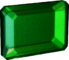 Flawless emerald