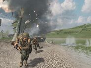 CoD2 Crossing The Rhine
