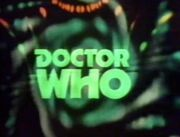 Doctor Who logo Pertwee logo