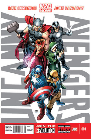 Uncanny Avengers Vol 1 1