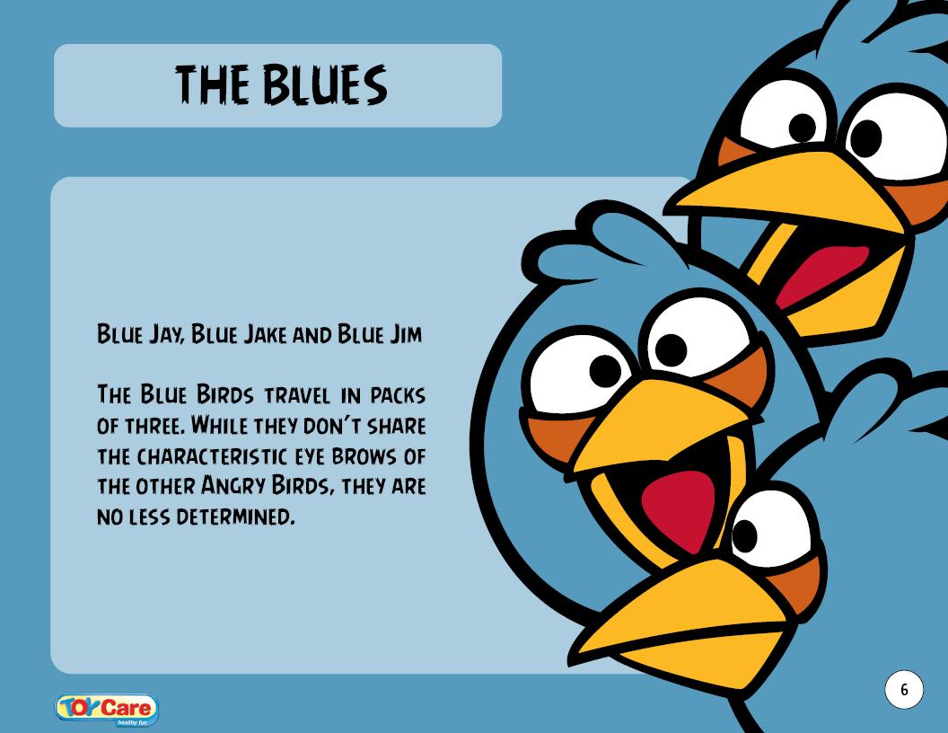 Blue bird angry birds wiki