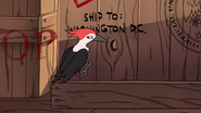 S1e8 woodpecker on train