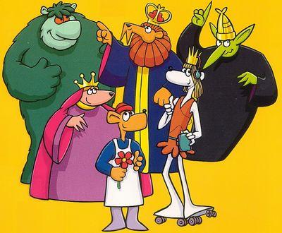 """""""Muzzy In Gondoland """" - """"Маззи в Гондоландиии """". Учебный мультфильм на французском языке"""