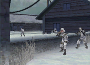 Alpha and bravo team meet up MW3DS