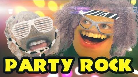 Annoying Orange - Party Rock (ft