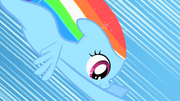 Filly Rainbow Dash about to get her cutie mark S01E23