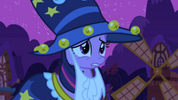 Twilight approaching the despondent princess S2E04