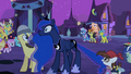 Pipsqueak tugging on Luna's tail S2E4.png