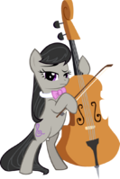 Octavia standing vector