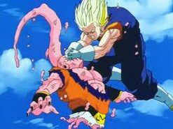 Vegetto vs buu 5