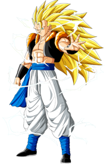 Gogeta SSJ3 Render