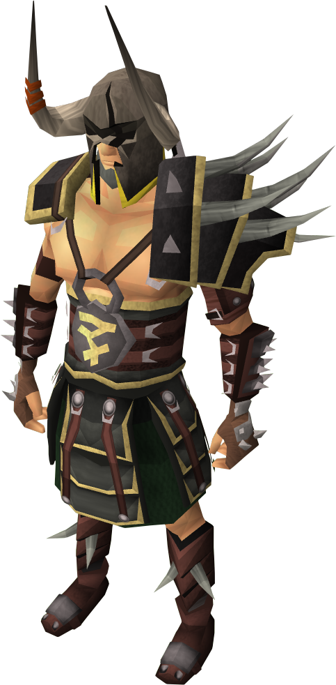 runescape how to open armour set