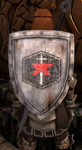 DA2 Mercenary's Shield - round shield - act 1