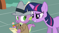 Spike &amp; Twilight Sparkle S2E8
