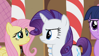 Rarity &amp; Fluttershy impressed S2E8