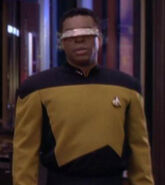 Geordi La Forge hologram, 2370