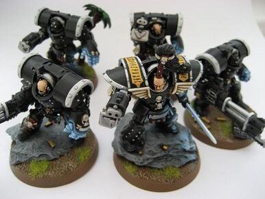 Pre-heresy Morlock Terminator squad