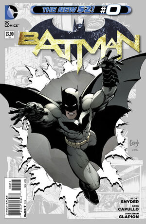 Cover for Batman #0