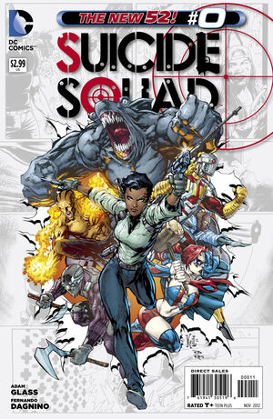 Cover for Suicide Squad #0